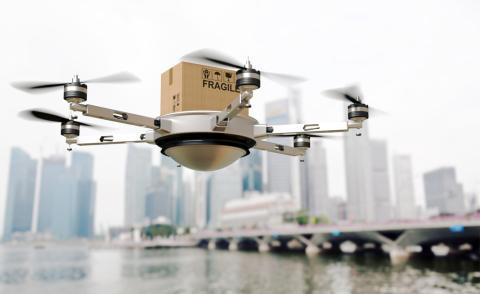 Dron repartidor