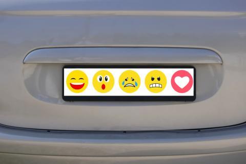 Emoji matrícula