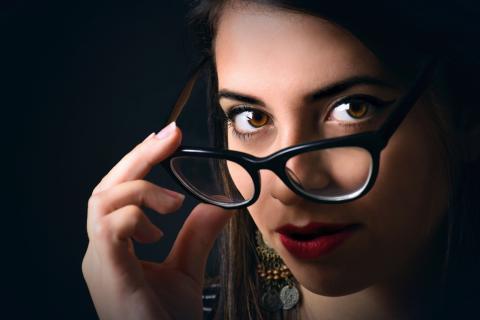 gafas graduadas de mujer