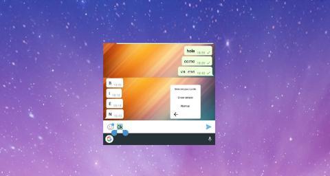 Monospace Telegram