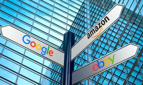 Origen de Google, Amazon o eBay