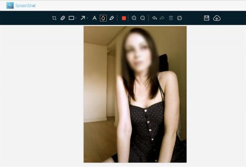 Desenfocar foto con Screen Shot
