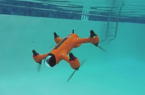 Dron anfibio