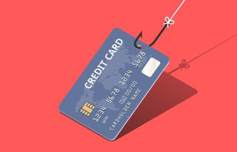 Tarjeta de crédito phishing