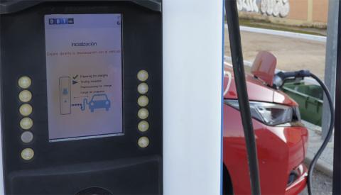 Tiempo de carga de un coche eléctrico