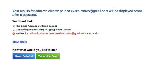 Verificar correo electrónico