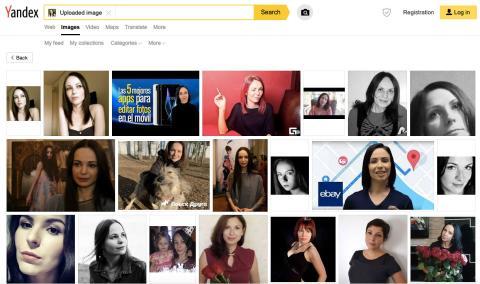Búsqueda de imágenes con Yandex