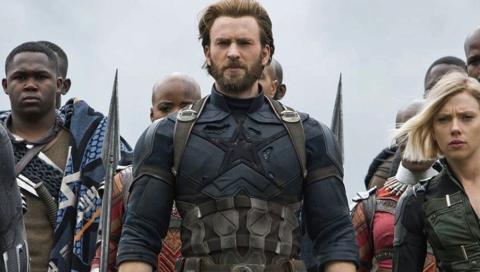 Capitán América / Nómada - Infinity War