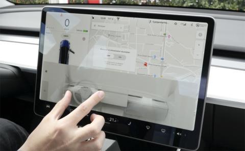 Climatizador en el Model 3