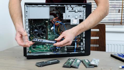 Cómo cambiar la RAM de un PC de sobremesa