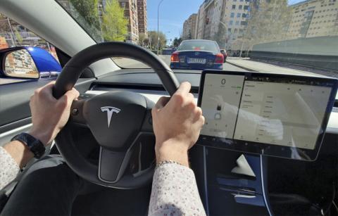 Conduciendo el Model 3