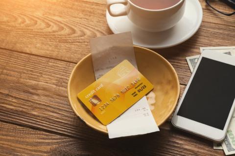 Factura tarjeta de crédito ticket