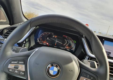 Cuadro de instrumentos del BMW Z4