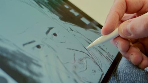 iPad Air 3 con apple pencil