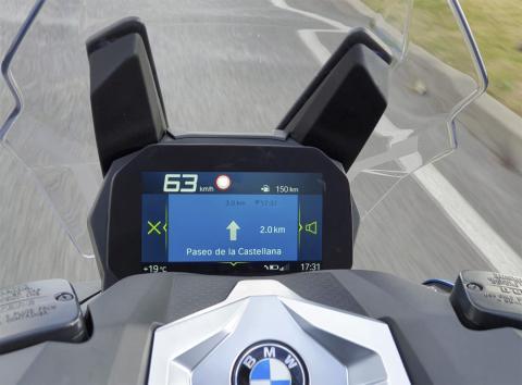 Navegador de la BMW C 400 X