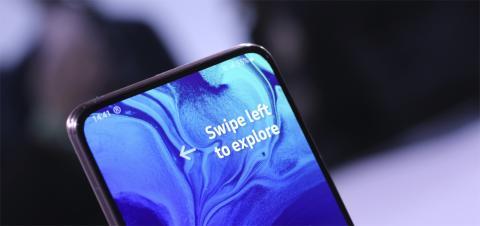 Pantalla del Samsung Galaxy A80