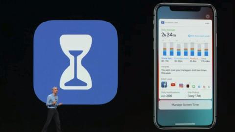 Tiempo de Uso Apple