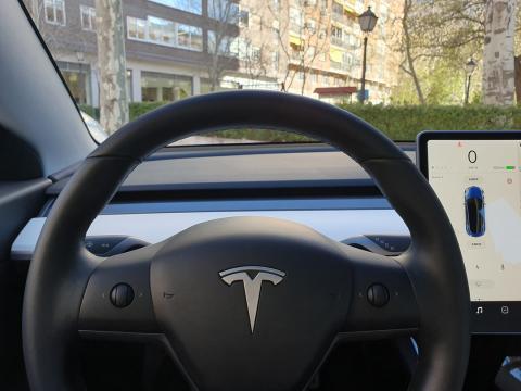 Volante del Tesla Model 3