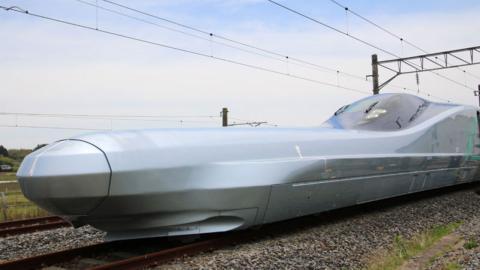 Japón presenta tren bala más rápido del mundo en líneas ferroviarias tradicionales