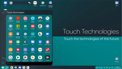 Android Q experimenta con un modo de escritorio oculto