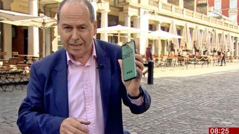 BBC retransmisión en 5G