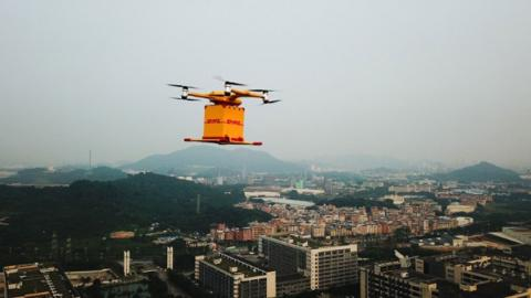 Dron DHL China