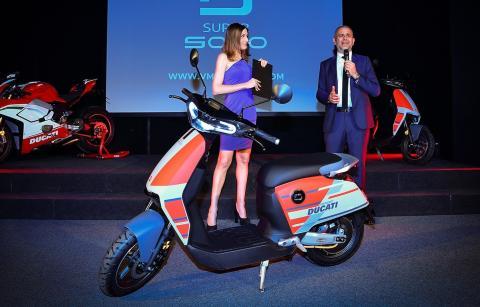 Scooter eléctrico SuperSoco
