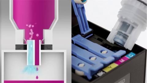 EcoTank es la alternativa sostenible y barata al cartucho de tinta