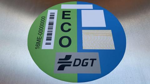 Etiquetas DGT