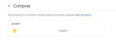 Gmail compras