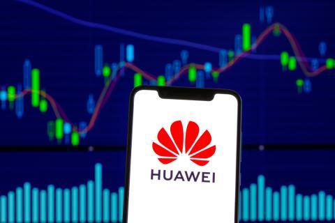 Huawei móvil logo