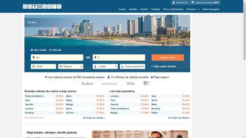 Webs de vuelos baratos