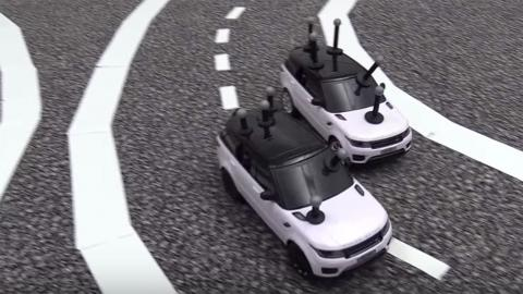 Mini coches autónomos
