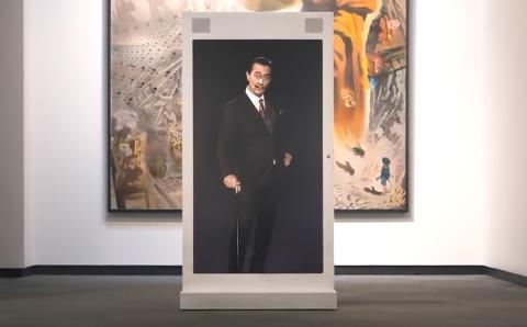 Salvador Dalí virtual