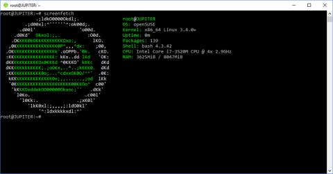 OpenSUSE Windows 10