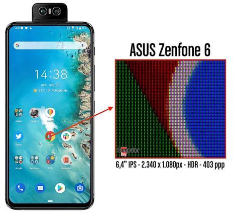 Píxeles Zenfone 6
