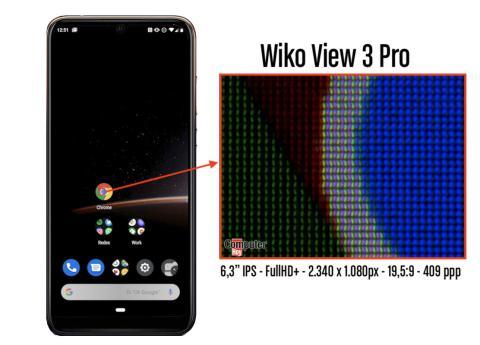 Pruebas pantalla Wiko