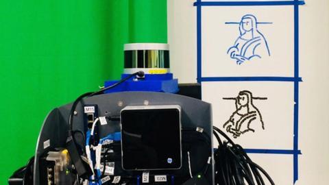 Robot que copia y dibuja