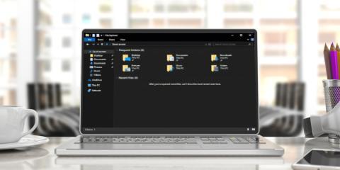Windows 10 Modo oscuro