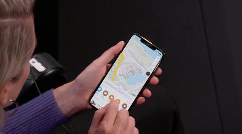 Apple Maps en iOS 13