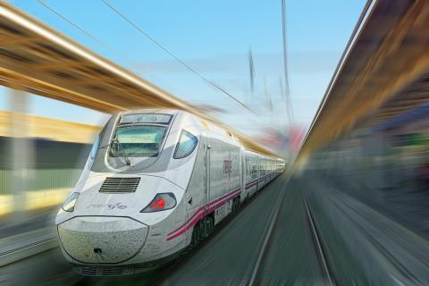 AVE de Renfe tren