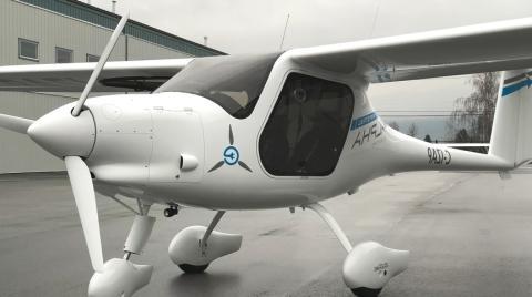 Avioneta eléctrica