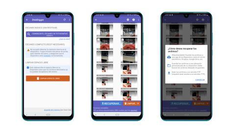 Cómo recuperar fotos borradas en Android en 2019