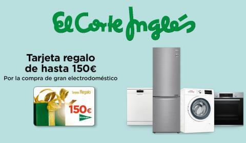 ba36debddd82 El Corte Inglés ofrece tarjetas regalo de hasta 150€ al comprar ...