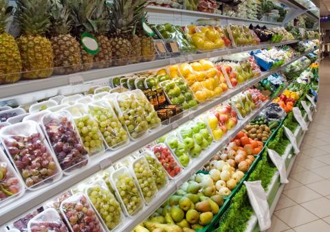 supermercado, plástico