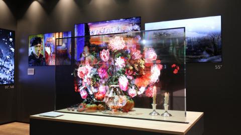 LG presenta una pantalla OLED de 55 pulgadas totalmente transparente