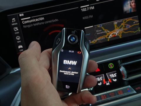 Llave digital de BMW