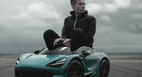 McLaren 720S para niños