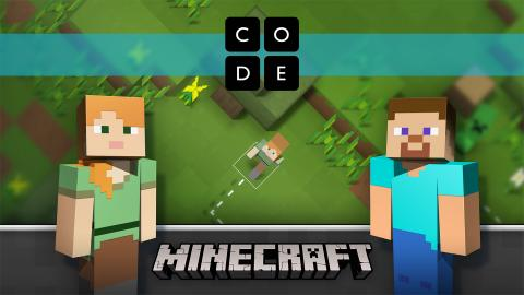 Minecraft Hora del Código