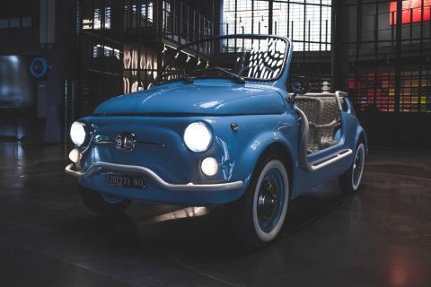 Fiat 500 Jolly eléctrico